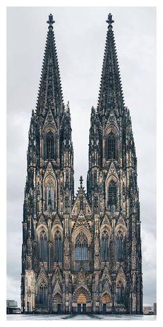 Religious Edifices Facades in Europe – Fubiz Media