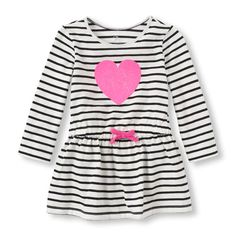 The Childrens Place - Your sweetheart will shine bright while wearing this dress!
