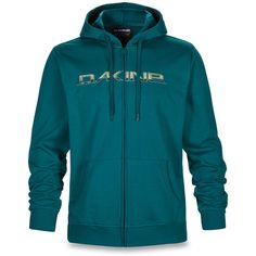 Dakine Rail Fill Hooded Fleece Herren Hoodie Kapuzen Pullover Deep Teal