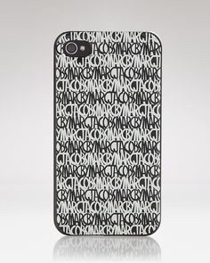 MARC BY MARC JACOBS iPhone Case - Linear D1 | Bloomingdale's Inspektor Gadget, Iphone 4, Iphone Cases, D1, Tech Accessories, Marc Jacobs, Iphone Case, I Phone Cases