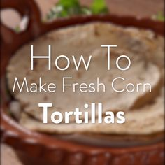 Homemade Tortilla Chips - Use your leftover corn tortillas to make homemade t. Corn Tortilla Recipes, Homemade Tortilla Chips, Mexican Dishes, Mexican Food Recipes, Dinner Recipes, Gorditas Recipe Mexican, Zucchini Sauce, Tortilla Wraps, Cooking Tips