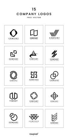 Download free royalty-free corporate logo vectors at rawpixel.com