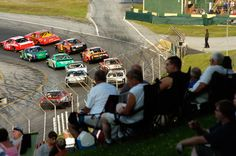 Vermont Day-cations: Thunder Road SpeedBowl in Barre    Photo by Jeb Wallace-Brodeur