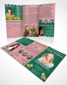 Funeral Program Templates  Program Template Tri Fold And Funeral