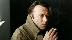 Christopher Hitchens, who I started to admire quite a bit before he died.