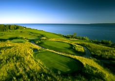 Northern Michigan Golf Courses   Golf Course Resorts in Michigan   BOYNE...The Links at Bay Harbor :)