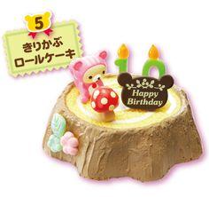 Re-Ment Miniatures - Rilakkuma Birthday Cake #5