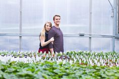 The Bolton's | Greenhouse Portraits | Elsa Creates