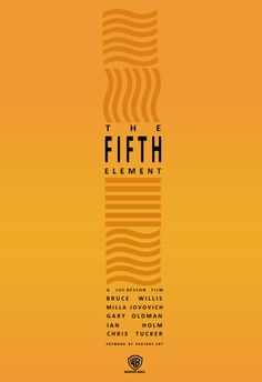 The Fifth Element (Minimalist Poster) by PHATboyArt.deviantart.com on…