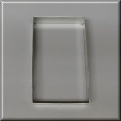 5 X 3 Rectangle Cookie Cutter [C9150] - $1.15 : Cheap Cheep Cookie Cutters, Quality Cookie Cutters at a Cheap Price! Buy from this Bird!
