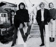 1966 - The Doors photographed on Venice Beach