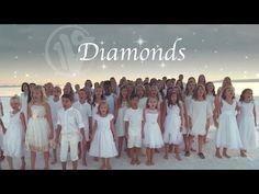 """Diamonds"" Rihanna (napisany przez Sia)   Okładki Chóru Dziecięcego jednym głosem - YouTube Rihanna, Choir Songs, Music Songs, Dance Videos, Music Videos, Diamond Songs, Uplifting Songs, Christmas Concert, Merry Christmas"