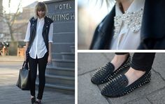 Pearls & spikes.  BY SIETSKE L., 22 YEAR OLD FASHION COMMUNICATOR FROM THE NETHERLANDS