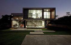 Hausbau Architekturtrends Design Exterior Minimalismus Haus