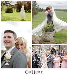 Super photos by Cat Hepple of a wedding at Goldsborough Hall