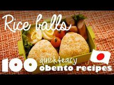 Ep.6 Rice balls (100 Quick&Easy Obento Recipes) | BASIC TOKYO