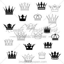 Image result for geometric crown tattoo