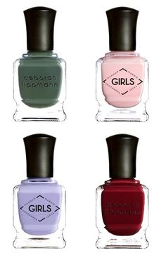 Deborah Lippmann Launches a Nail Collection for HBO's Girls.Are You More of a Jessa    i want these please.