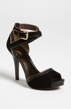 COACH 'Andrea' Sandal available at Nordstrom, what can I say?  Gorgeous shoe!!