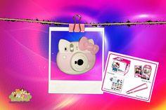 Fujifilm, Hello Kitty, Packaging, Stickers, Phone, Mini, Telephone, Sticker, Phones