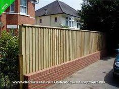 ... fence ideas on Pinterest  Brick fence, Bricks and Wrought iron fences