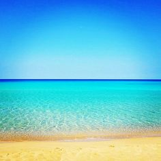 Falasarna Beach in Crete, Greece via GreekDietRecipes.com