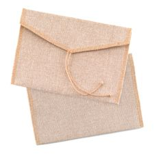 Burlap Envelope - Package of 25