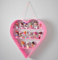 Diy Arts And Crafts, Crafts For Kids, Cool Kids Bedrooms, Kawaii Room, Toy Display, Doll Party, Girl Bedroom Designs, Toy Rooms, Toy Organization