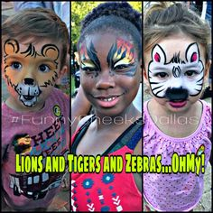 Fun face painting by Funny Cheeks Dallas Face Painting  #DallasFacePainter #DFWfacepainter #FunnyCheeksTJ #ilovefacepainting #facepaint #facepaintinglife #FunnyCheeksDallas