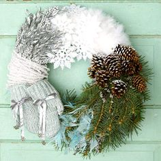 Winter Wreath- Gorgeous
