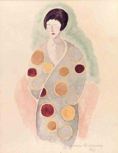 """una-lady-italiana: """"  by Sonia Delaunay, 1925 """""""
