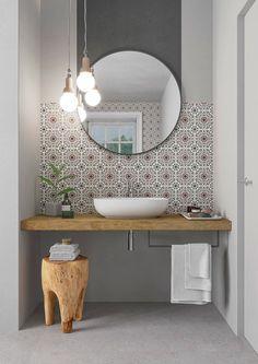 Best Bathroom Designs, Bathroom Design Small, Bathroom Interior Design, Bathroom Ideas, Mediterranean Bathroom, Loft Bathroom, Apartment Projects, Toilet Design, Amazing Bathrooms