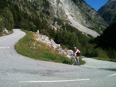 Climbing Col Du Glandon