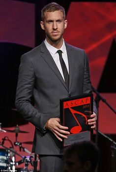 Since when did Calvin Harris get so fit?