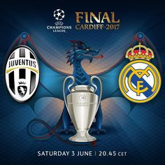 Juventus vs Real Madrid UEFA Champions League final Cardiff 2017
