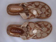 Women Coach Sandals-058
