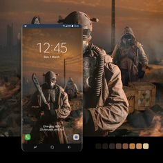 Samsung Galaxy Wallpaper, Nuclear War, Postwar, Post Apocalypse, Fallout, Badge, Smartphone, Android, Wallpapers