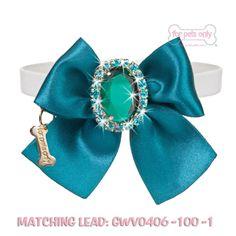 Diamond Love Collar Blue GWVO140