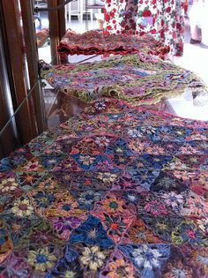 sophie digard at calico and ivy by knitabulous, via Flickr