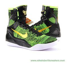 Nike Kobe IX 9 Elite 630847-077 Green