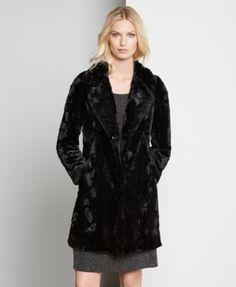 91a36479975 Karen Kane Faux-Fur Coat Women - Jackets   Blazers - Macy s