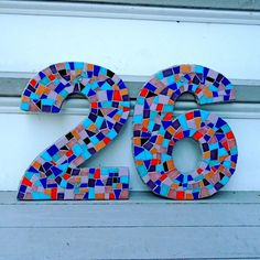 mosaic front door numbers - Google Search