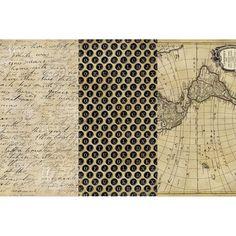 Decoupage Paper 12inX16in 3/PkgOlde Worlde                                                                                                                                                                                 More