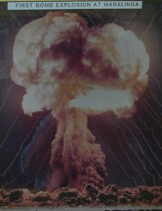 Nuclear test mushroom cloud 1950s by InnoventionAustralia, via Flickr