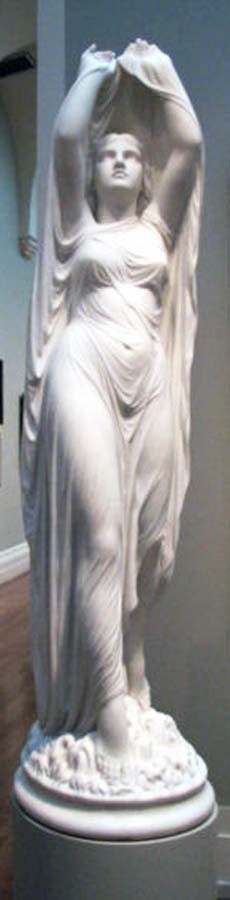 "Chauncey Bradley Ives: ""Undine Rising from the Waters"", c. Marble, Yale University Art Gallery, New Haven. Classical Elements, Classical Art, France Culture, Italian Sculptors, Water Nymphs, Wow Art, Illustrations, Installation Art, Sculpture Art"