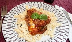 Parmský zapékaný lilek  / baklažán 20 Min, Grains, Meat, Chicken, Food, Essen, Meals, Seeds, Yemek