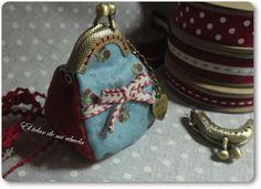 Small purse... just for coins. From: El telar de mi abuela.