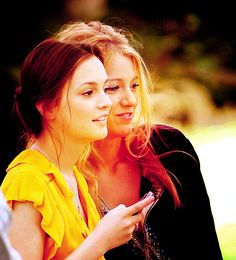 Gossip girl blair and Serena <3