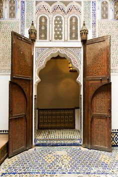 Meknes, Morocco  Enchanting!  I find myself using this word so often relative to Morocco, yet it's always apt.