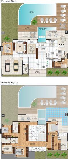 Projeto Arquitetônico: Sobrado Olinda • Cód.211 • R$ 2.190,00